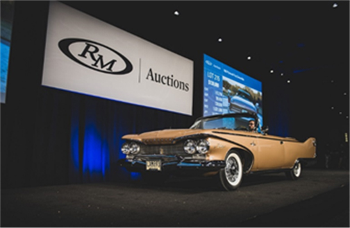 RM Auctions - Hersey Sale - The exceptional 1960 Plymouth Fury Convertible shines on the auction block at the Hershey Lodge