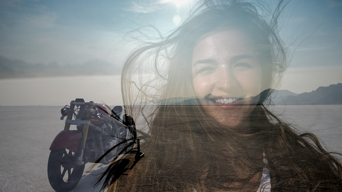 Royal Enfield and 18-Year-Old Cayla Rivas Set New Motorcycle Bonneville Speed Record