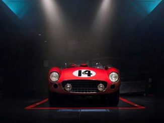 The Classiche restored and certified Ferrari 290 MM