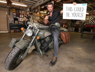 Josh Duhamel Indian Motorcycle