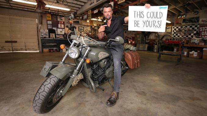 Josh Duhamel Indian Motorcycle