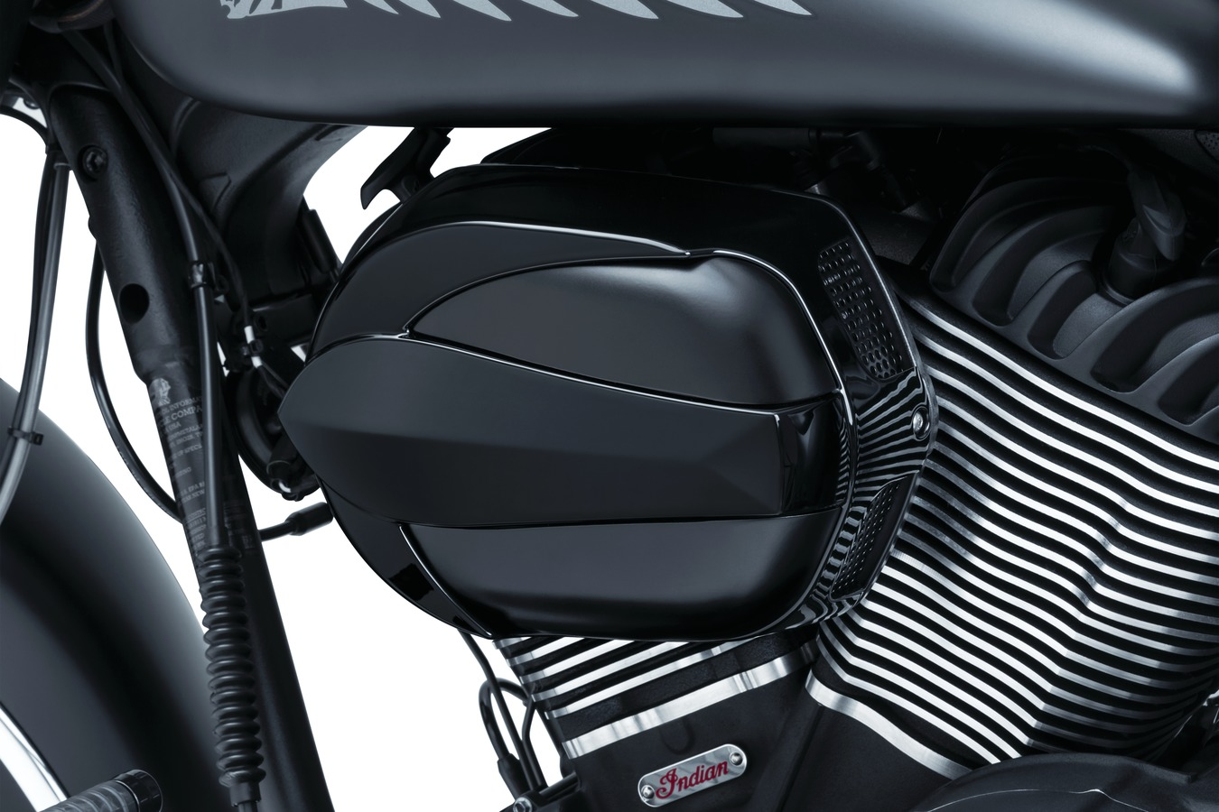 Signature Series Vantage Air Cleaner by John Shope, Gloss Black