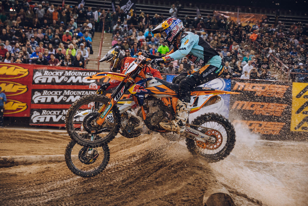 Boise EnduroCross - Cody Webb won the Boise main event