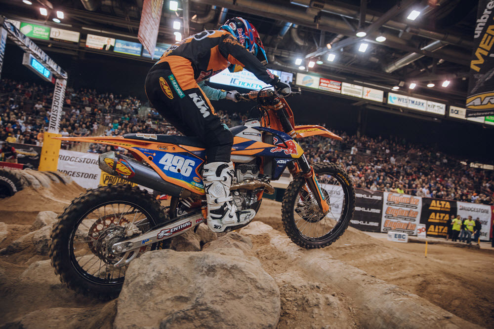 Boise EnduroCross - Kacy Martinez earned first Women's class EnduroCross championship
