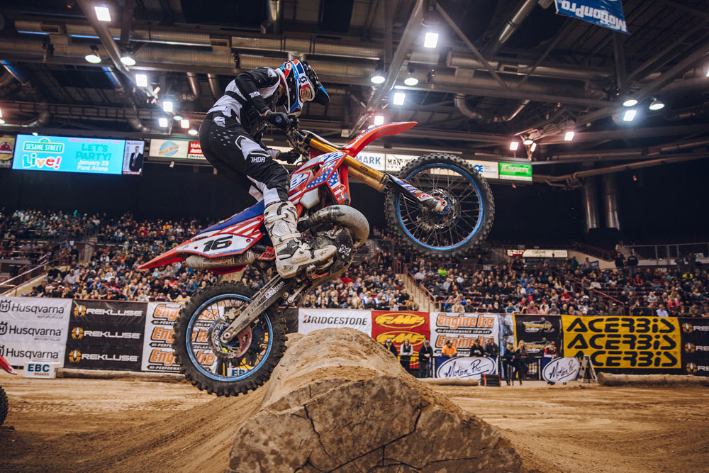 Boise EnduroCross - Nineteen-year-old Ty Cullins finished fifth
