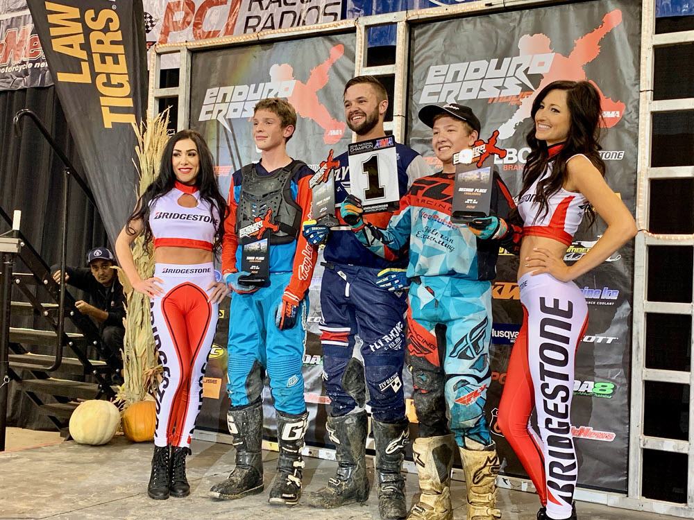 Boise EnduroCross - Richard Larsen (center) - Coleman Johnson - Hayden Simmons