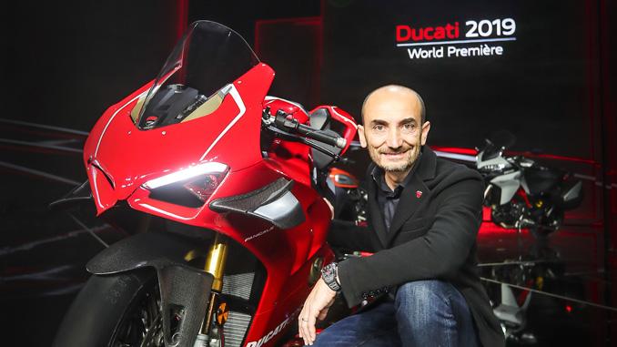 Claudio Domenicali - CEO Ducati Motor Holding