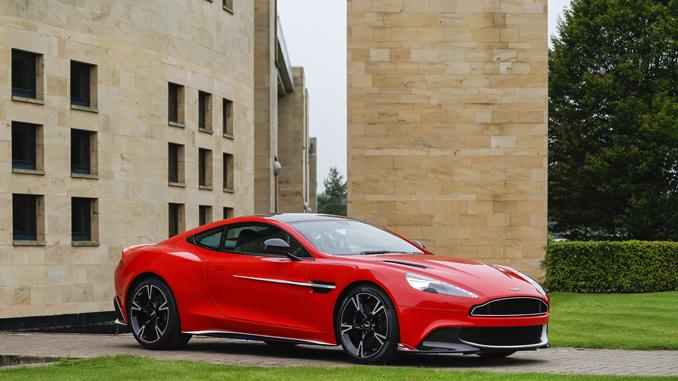 Aston Martin Red 2 Vanquish