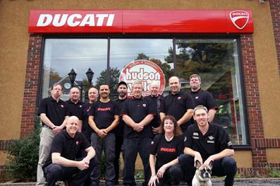 Ducati - Dealer of the Year - Hudson Valley Motorcycles