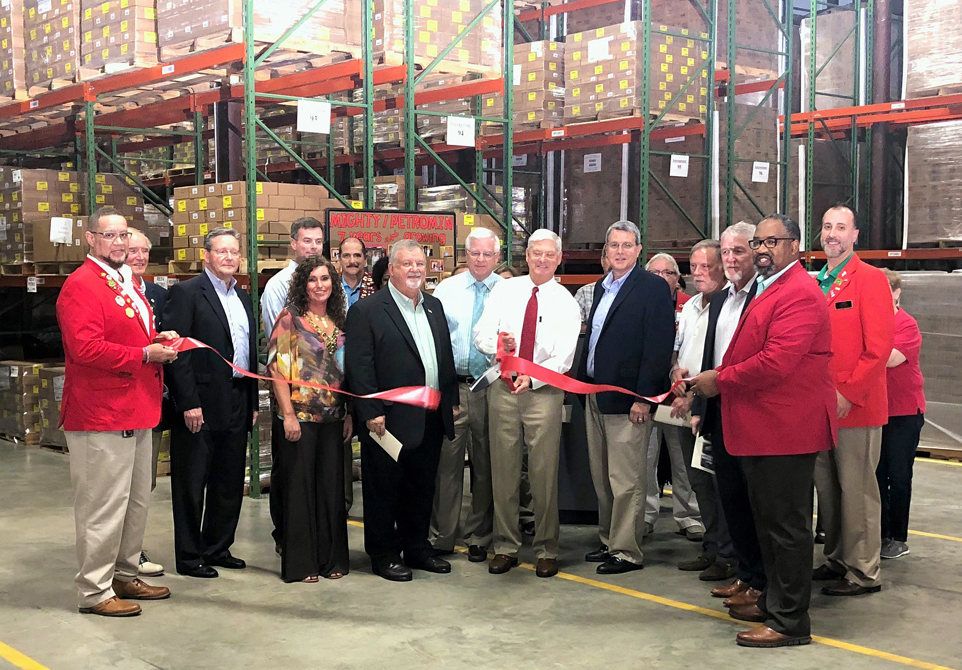 Mighty Auto Parts Product Center Warehouse Expansion