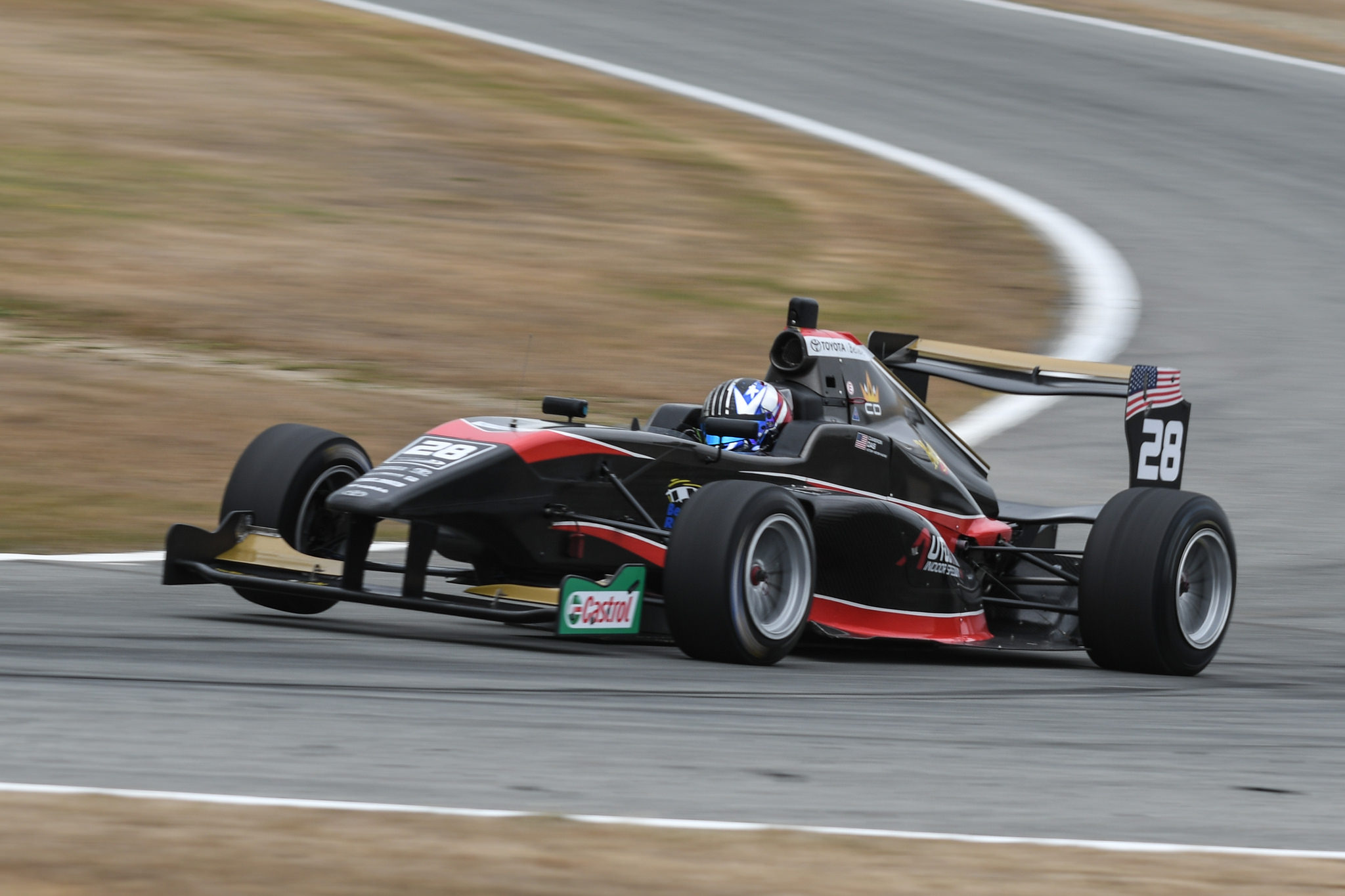 Castrol Toyota Racing Series - Cameron Das is returning to New Zealand in 2019 (3)