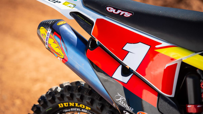 ROCKSTAR ENERGY HUSQVARNA FACTORY RACING EXTEND PARTNERSHIP WITH FMF RACING