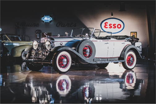 1930 Cadillac V-16 Sport Phaeton offered from the Richard L. Burdick Collection and set for RM Sotheby's 2019 Arizona auction (Darin Schnabel © 2018 Courtesy of RM Sotheby's)