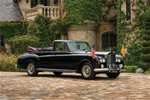 1967 Rolls-Royce Phantom V State Landaulet by Mulliner Park Ward offered from the Calumet Collection and set for RM Sotheby's 2019 Arizona auction (Robin Adams © 2018 Courtesy of RM Sotheby's)