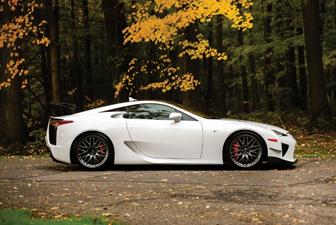 2012 Lexus LFA set for RM Sotheby's 2019 Arizona auction (Drew Shipley © 2018 Courtesy of RM Sotheby's)