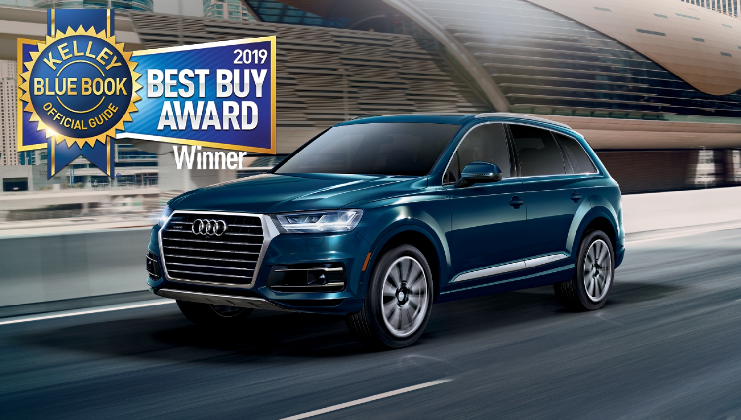 2019 Audi Q7 named KBB Best Buy in Midsize Luxury SUV category