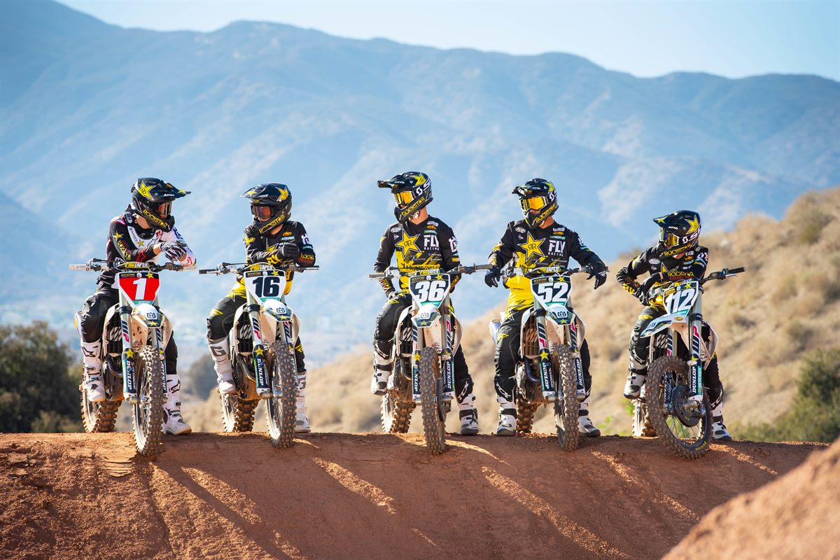 2019 Rockstar Energy Husqvarna Factory Racing SuperCross Team(1)