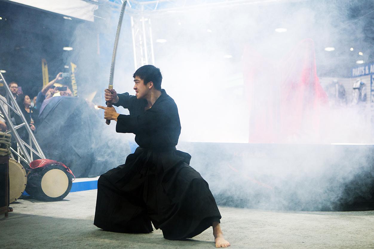 2020 Suzuki KATANA - samurai professional martial artist Jordan Okubo