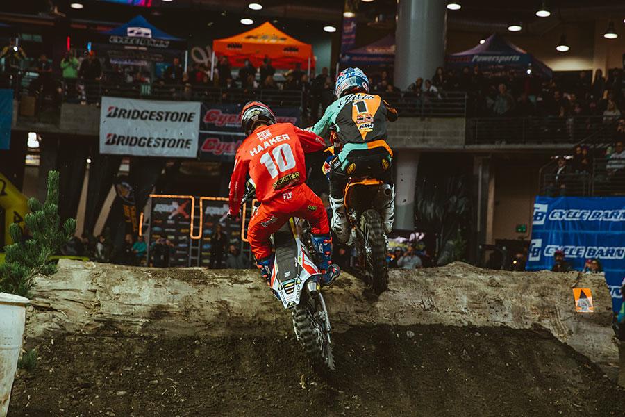 Boise EnduroCross - Cody Webb (1) and Colton Haaker (10)