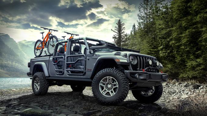FCA Mopar 2020 Jeep Gladiator