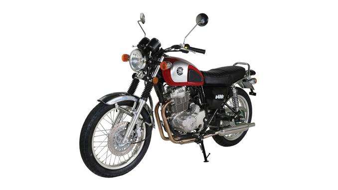 Genuine Scooters - Genuine G400C motorcycle