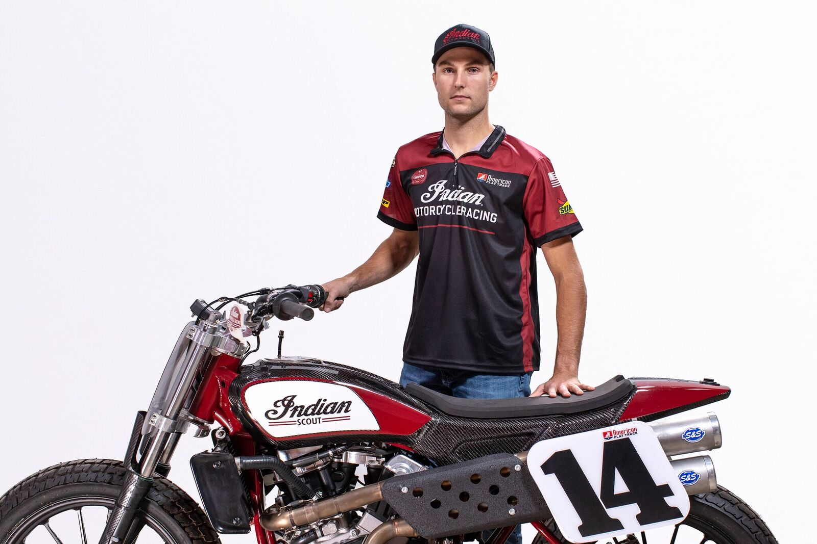 Indian Motorcycle Racing Wrecking Crew - Briar Bauman
