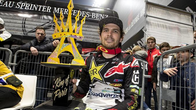 Jason Anderson – Rockstar Energy Husqvarna Factory Racing(1) - King of Paris 2018