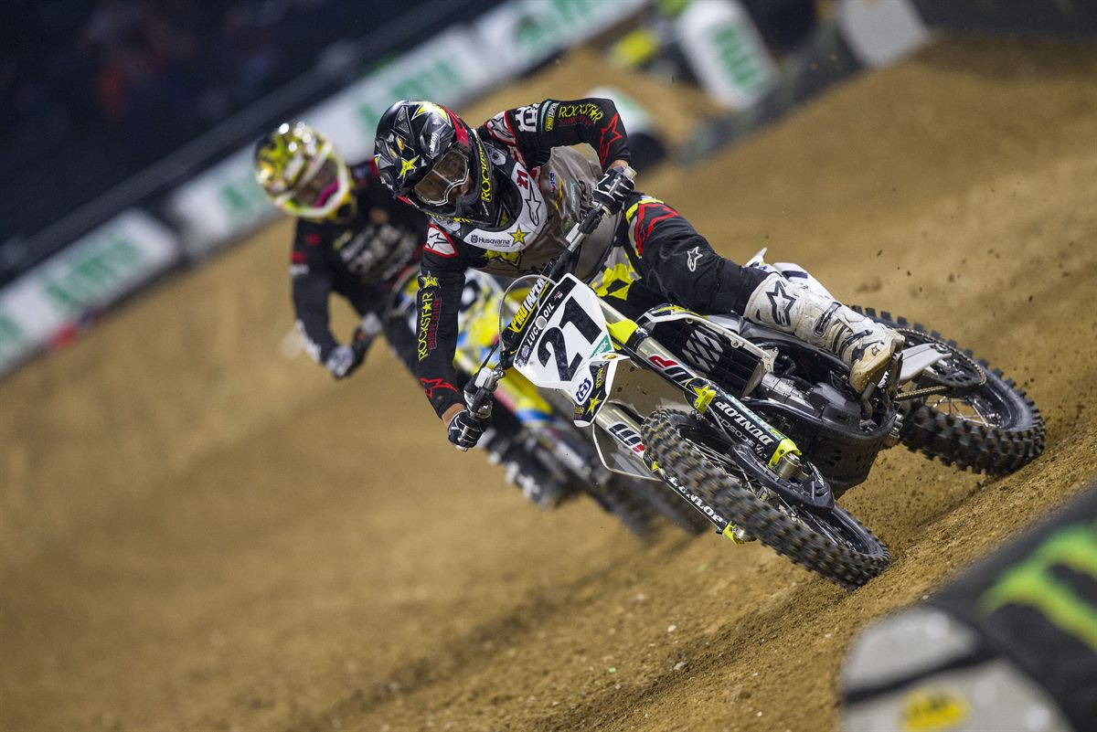 Jason Anderson – Rockstar Energy Husqvarna Factory Racing(2) - Supercross de Paris