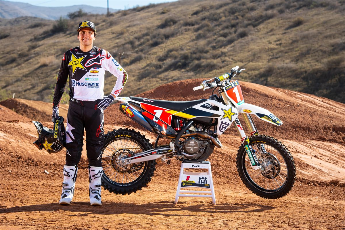 Jason Anderson - 2019 Rockstar Energy Husqvarna Factory Racing SuperCross Team