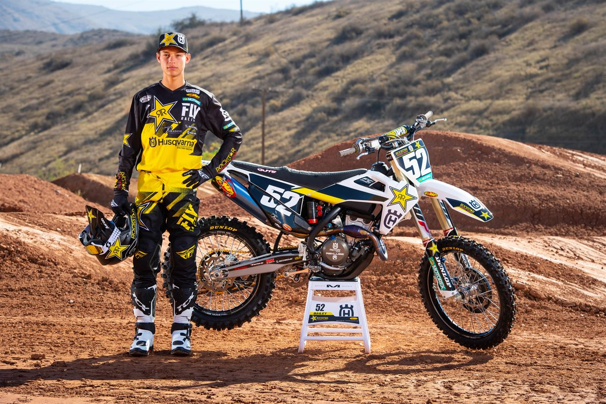 Jordan Bailey - 2019 Rockstar Energy Husqvarna Factory Racing SuperCross Team