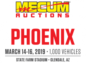 Mecum Auctions The World's Largest Collector Car Auction Company - logo