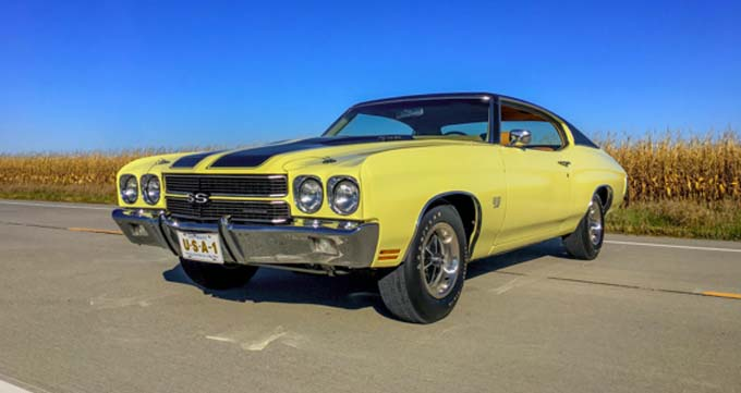 Mecum Kansas City - 1970 Chevrolet Chevelle SS 396-350 HP Automatic (Lot S116)