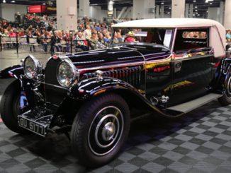 Mecum Las Vegas - 1930 Bugatti Type 46 Faux Cabriolet (Lot S98) Sold for $1012000