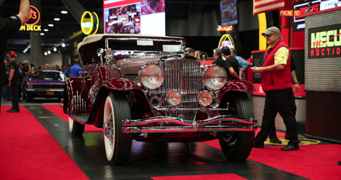 25 2 Million In Overall Sales At Mecum Las Vegas Collector Car