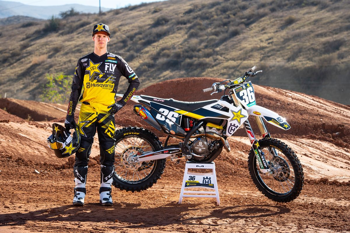 Michael Mosiman - 2019 Rockstar Energy Husqvarna Factory Racing SuperCross Team