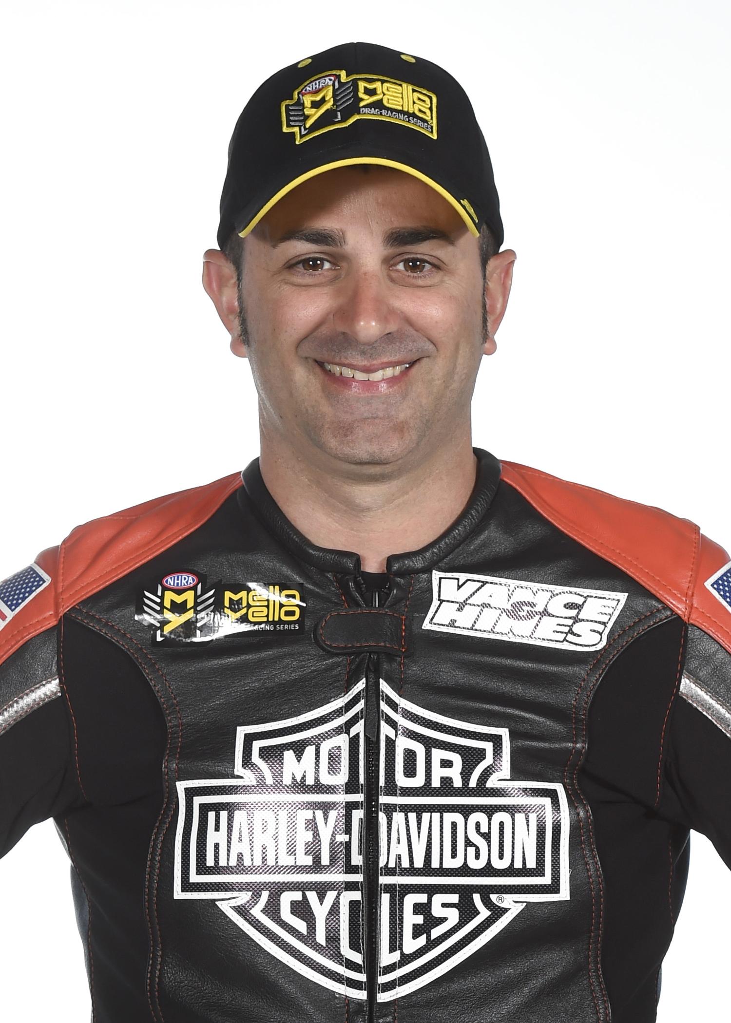 NHRA Pro Stock Motorcycle Eddie Krawiec