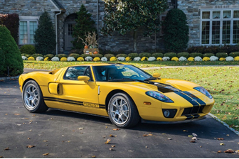 Petersen Automotive Museum Auction - 2006 Ford GT (Motorcar Studios © 2018 Courtesy of RM Sotheby's)
