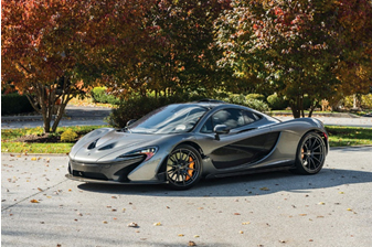 Petersen Automotive Museum Auction - 2015 McLaren P1 (Motorcar Studios © 2018 Courtesy of RM Sotheby's)