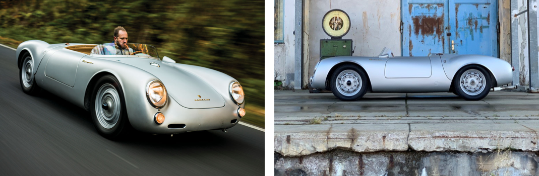RM Sotheby's Paris - Porsche 550 grouped - photos courtesy of RM Sotheby's