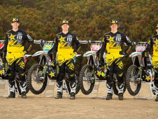 Rockstar Energy Husqvarna Factory Racing 2019 Off-road Team Shot