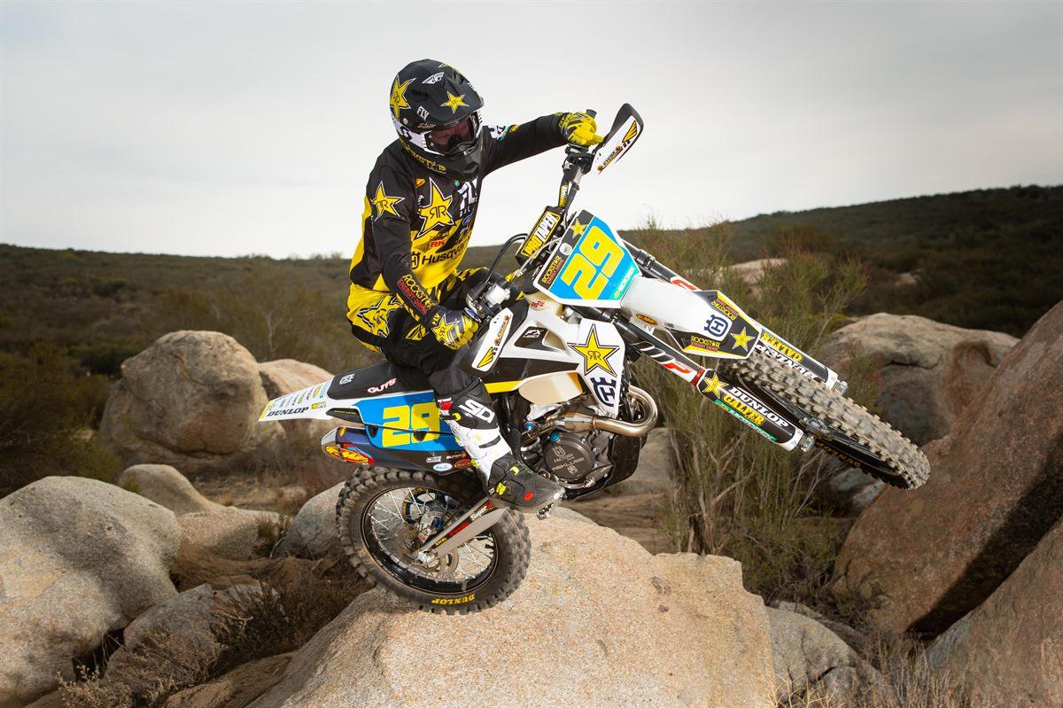 Rockstar Energy Husqvarna Factory Racing - Andrew Short 2