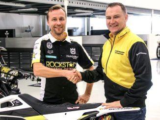 Rockstar Energy Husqvarna Factory Racing MXGP partner with Dunlop