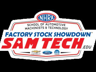 SAMTech.edu NHRA Factory Stock Showdown logo
