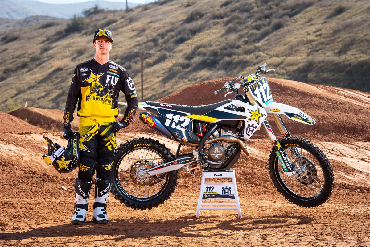 Thomas Covington - 2019 Rockstar Energy Husqvarna Factory Racing SuperCross Team