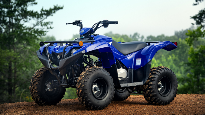 Yamaha Grizzly 90 - Youth ATV Available for the Holidays