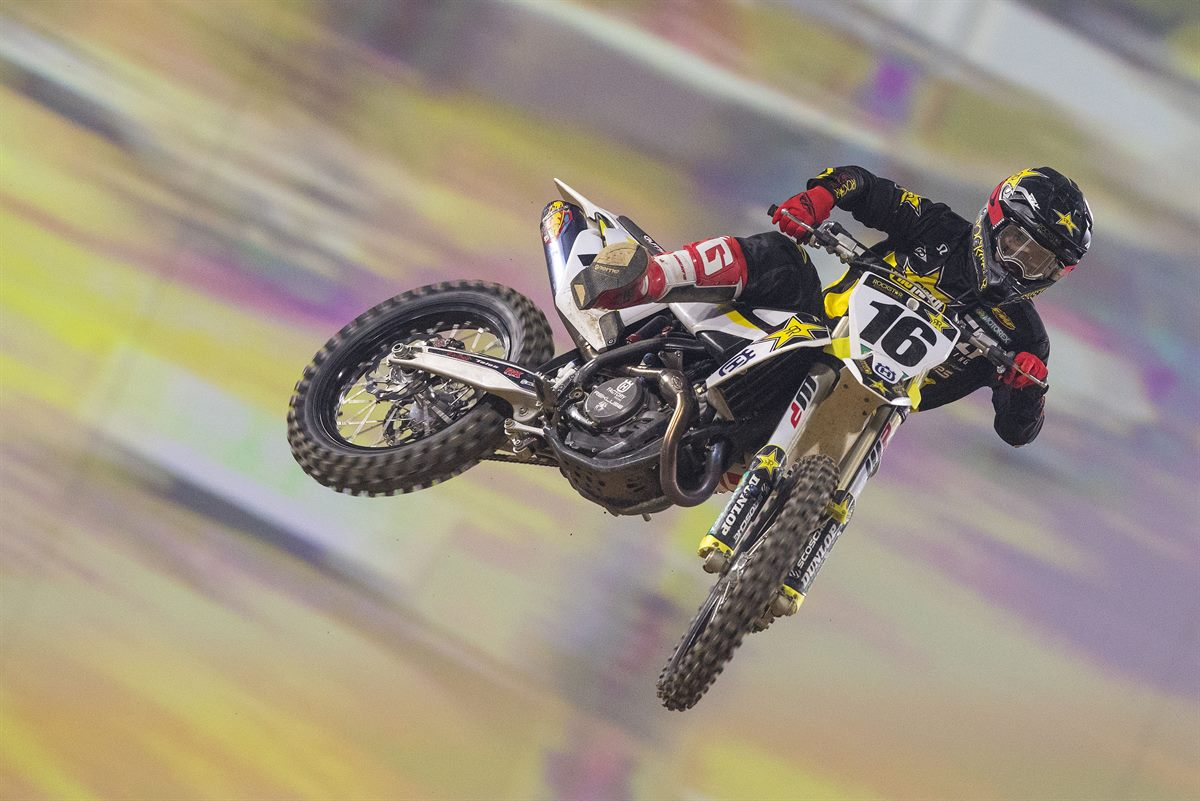 Zach Osborne – Rockstar Energy Husqvarna Factory Racing(1) - Supercross de Paris