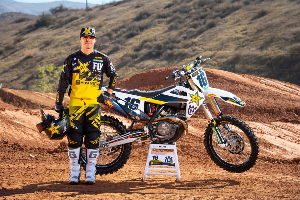 Zach Osborne - 2019 Rockstar Energy Husqvarna Factory Racing SuperCross Team
