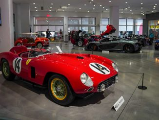 1956 Ferrari 290 MM - photo credit Karissa Hosek © 2018 Courtesy of RM Sotheby's