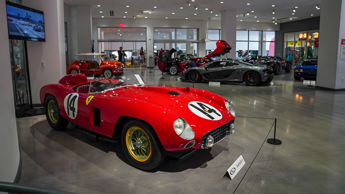 1956 Ferrari 290 MM - photo credit Karissa Hosek © 2018 Courtesy of RM Sotheby's