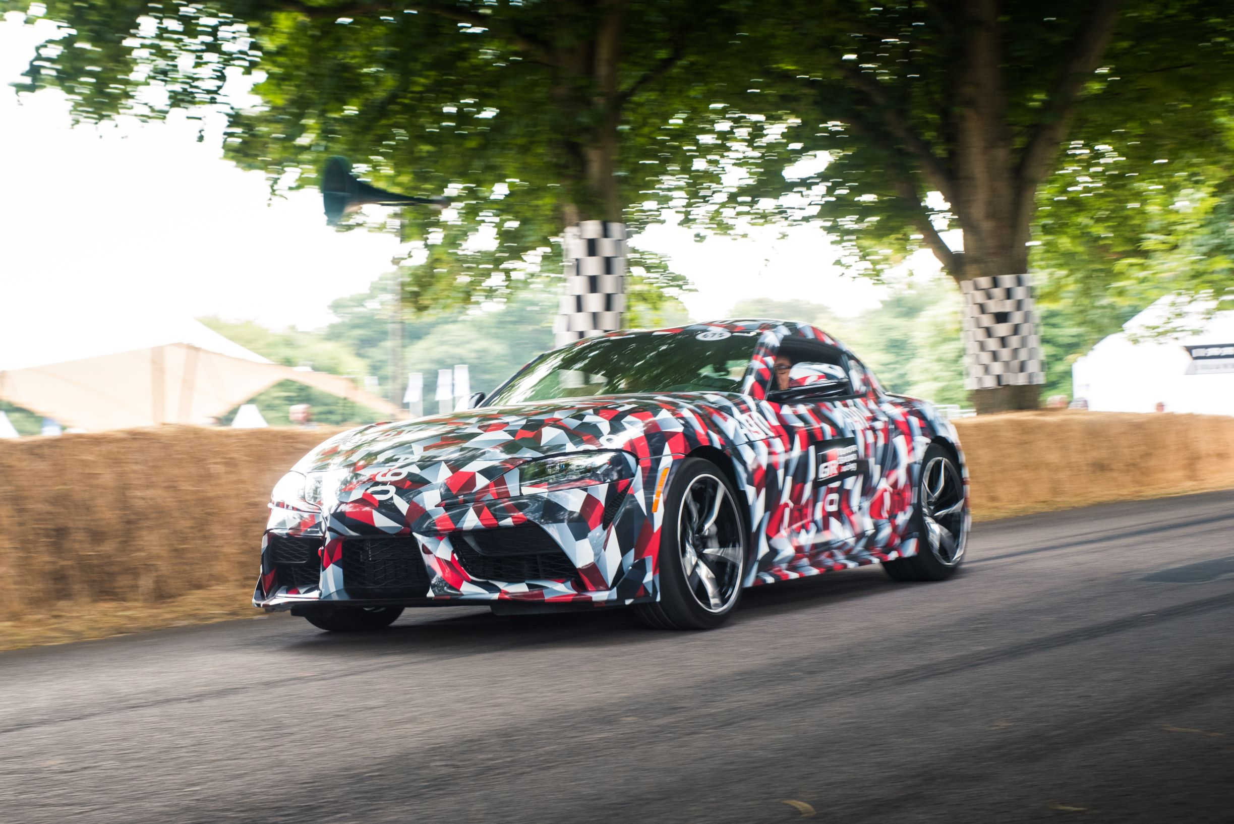 Toyota Supra Matte Black >> Barrett-Jackson to Auction First Production 2020 Toyota Supra For Charity